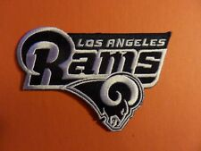 LOS ANGELES RAMS NFL EMBROIDERED IRON ON 2-7/8 X 4-1/4 PATCH