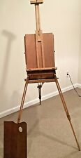Vintage Wood #286 Grumbacher French Travel Easel - Tin Lined - New
