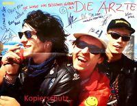Bravo Poster / Plakat, DIE ÄRZTE & EROS RAMAZZOTTI, 52cm x 39cm