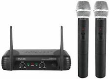 PULSE PWM200VHF-HH VHF Dual Handheld Microphone sans fil-Fonctionne Comme Kam KWM11