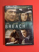 Breach (DVD, 2007) Widescreen Ryan Phillippe, Laura Linney, Chris Cooper - New