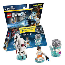 New LEGO Dimensions Portal 2 Level Pack Chell Turret & Companion Cube Official