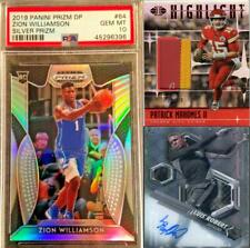 Absolute Mystery Pack Patch Auto Zion Williamson Patrick Mahomes Rookie PSA 10