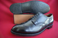 Alden US Gr. 10 E Wing Tip Blucher Business NP: 599,00 Black z.T. wNEU! Top!