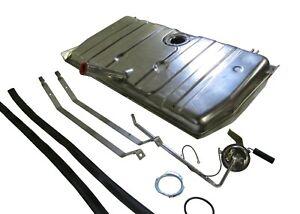 70-73 Camaro/Firebird STAINLESS STEEL gas/fuel tank 3 Vent KIT W/straps & Sender