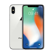 New Apple iPhone X 256GB Factory Unlocked, Silver - Next Day Delivery