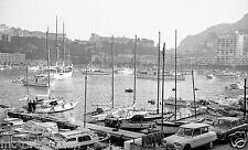 Grand Prix de Mónaco 1966 barcos en el puerto fotografía Fórmula uno 1 Foto GP 3