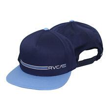 RVCA VA Sport Crusher Snapback Hat (Navy Blue/Sky Blue) - mma surf skate bjj