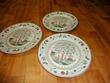 "3 Villeroy & Boch American Sampler First Impressions dinner plate 10"""