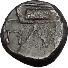 Pantikapaion in Tauric Chersonesos 3rdCentBC RARE Ancient Greek Coin BOW  i50245