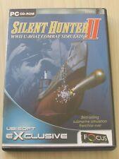 Silent Hunter II WWII U-Boat Combat Simulator PC CD ROM