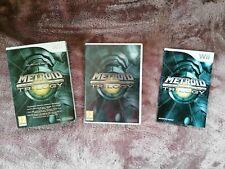 Metroid Prime Trilogy Nintendo Wii - PAL Version