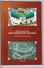 Israel Pena Rodriguez Historia De Los Indios Del Beisbol Mayaguez Puerto Rico Si