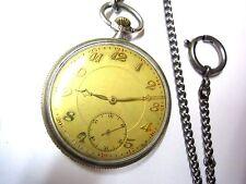 Alte Taschenuhr in Silber 800 Ankergang ca. 1930