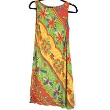 Carole Little Womens Top Size 10 Sleeveless Floral Print Boat Neck A Line