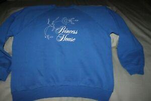 L Princess House Consultant Vintage BLUE Sweatshirt Size XL Preowned