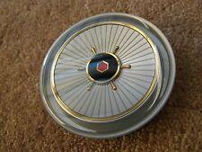NOS OEM 1957 Packard Steering Wheel Horn Button Ornament Emblem Clipper