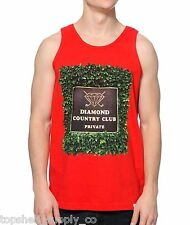 Diamond Supply Co Private Country Club Tank Red Size Large (Topshelf Supply Co)