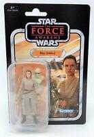 """Star Wars Vintage Collection VC116 Rey Jakku 3.75"""" Action Figure Kenner Card"""