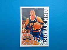 1995-96 Panini NBA Basketball Sticker N. 36 John Starks New York Knicks
