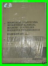 CAGIVA manuale d'officina ELEFANT 200 (200cc.)