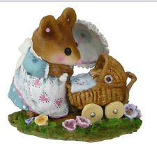 """Wee Forest Folk """"First Spring Outing"""" Blue"""