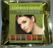 Lustrous Henna Soft Black All Natural Hair Color 100 grams