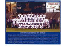2000 MILWAUKEE BREWERS 8X10 TEAM PHOTO    BASEBALL WISCONSIN