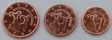 1+2+5 Euro Cent Zypern 2013 unz