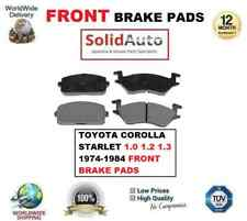 FOR TOYOTA COROLLA STARLET 1.0 1.2 1.3 1974-1984 FRONT BRAKE PADS SET EO QUALITY