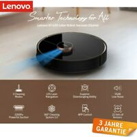 Saugroboter mit Wischfunktion Lenovo X1 LDS Laser Navigation Staubsauger 2200 Pa