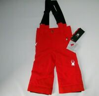 SPYDER Burst MINI PROPPULSION INSULATED Suspender SNOW PANTS Boys Size 2 NEW