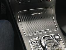 Chrome AMG Interior Dash Control Decal Badge Mercedes-Benz C180 C200 C250 C63