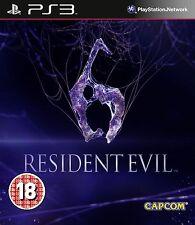 resident evil 6 ps3 nuevo en  CASTELLANO no tiene precinto