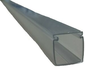 """Clear cable duct track - Side-emitting fibre cable 13mm (0.511"""") & 18mm (0.708"""")"""
