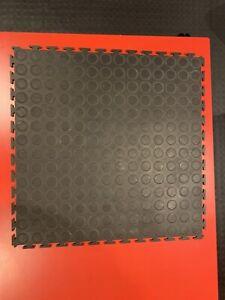 PVC Garage Floor Tiles, Workshop, Showroom, Gym, Cars, Motorbikes Interlocking