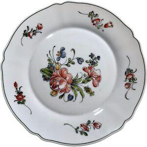 "France Arc Arcopal 10.25"" Dinner Plate Flower Spring Summer Garden Scallop White"