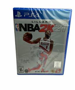 NBA 2K21 PS4 PlayStation 4  BRAND NEW FACTORY SEALED FREE SHIPPING