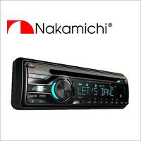 NAKAMICHI NA205 50W x 4 Bluetooth Single DIN CD USB AUX Car Radio StereoHeadunit