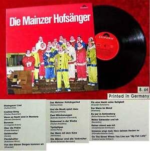 LP Mainzer Hofsänger (1964)