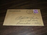 1961 C&NW CHICAGO & NORTH WESTERN RAILWAY COMPANY ENVELOPE CHICAGO & ELROY RPO