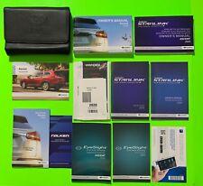 New listing 2020 Subaru Ascent Factory Owners Manual Set w/ Nav & Case *Oem*