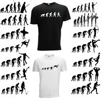 Evolution of Geek T Shirt Present Theory Mens Funny Nerd Computer Science Gamer