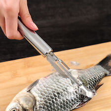 1PC Fish Scale Remover Scaler Scraper Cleaner Kitchen Tool Peeler Gadgets