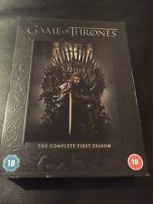 Game of Thrones -The Complete First Season - 5 DVD Box - mmoetwil@hotmail.com