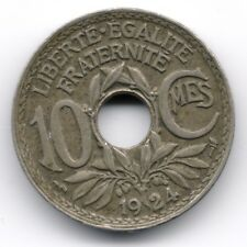 France : 10 Centimes 1924