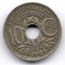 France : 10 Centimes 1924