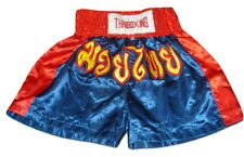 Muay Thai Thaiboxing XL Kickboxing Shorts Fighting Bottoms Satin Athletic XL