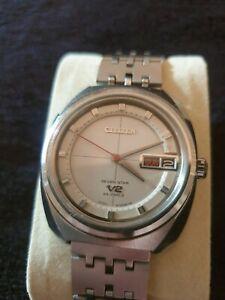 Vintage citizen seven star V2 automatic mens watch