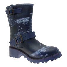 Demar Ladies Rubber Boots Rain Boots With Heel Women's Boots Shoes Waterproof